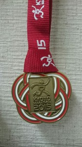 京都メダル
